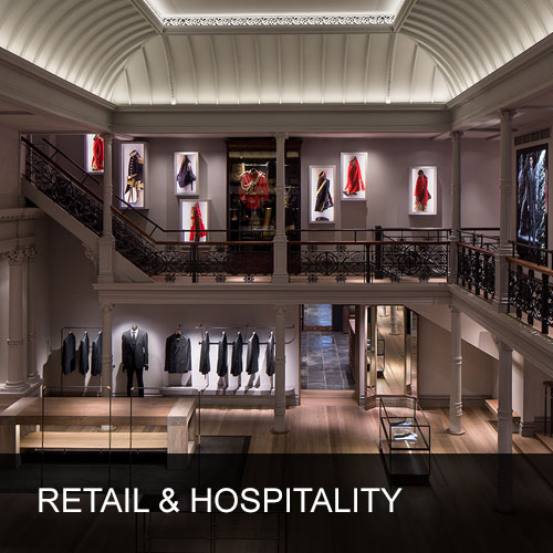 Lighting Design for Retail & Hospitality Sector